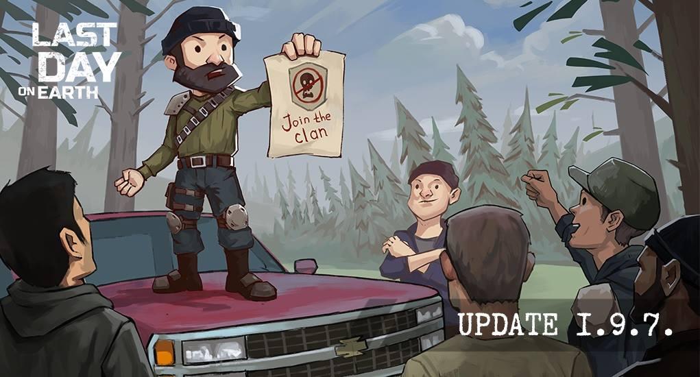 Mise à jour 1.9.7 – Les Clans sont là !